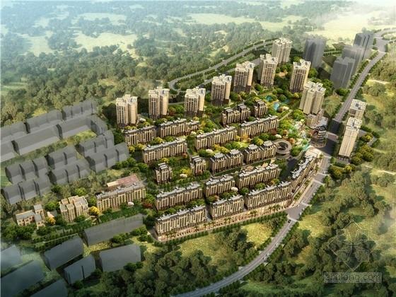 [重庆]古典风格住宅小区规划设计方案文本(含150余张图纸)
