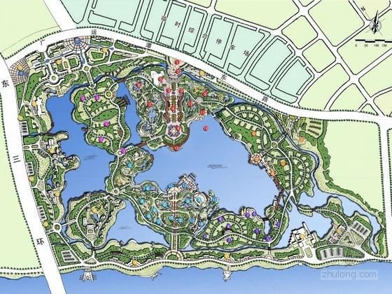 [陕西]国际博览型专类主题公园规划设计方案(国内知名旅游规划公司作品)