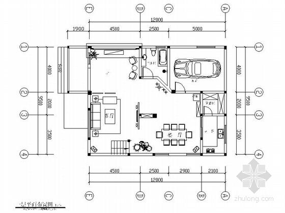 温馨简欧风格复式样板间CAD装修施工图(含效果)