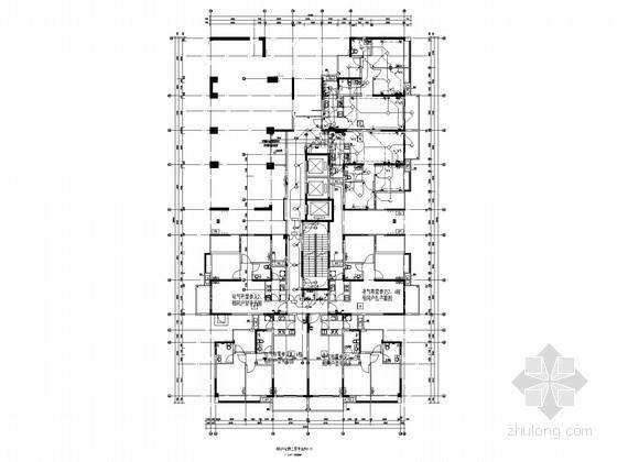 [广东]高层小区住宅楼电气施工图(甲级设计院 最新设计)