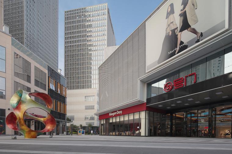 万达广场购物中心室内设计施工图(附效果图)-1 (1)
