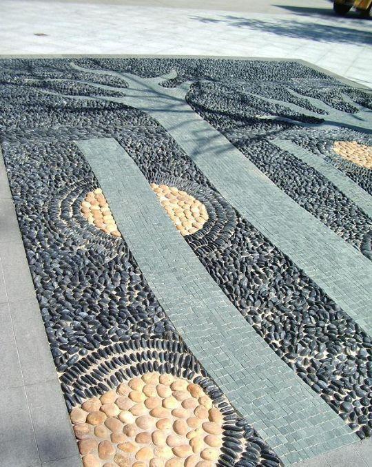 鹅软石 · 铺装的艺术
