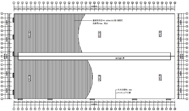 木业公司门式刚架钢结构厂房施工图(CAD,12张)