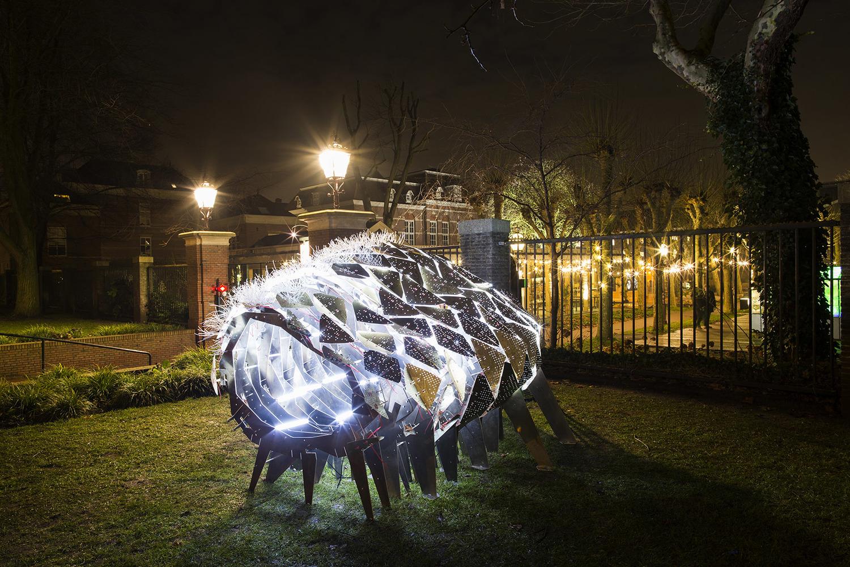 荷兰灯光节艺术装置