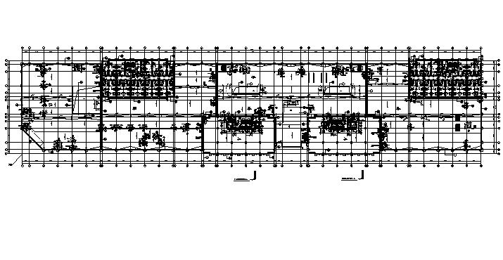 [内蒙古]高层框架结构办公、公寓及商业餐饮建筑施工图_8