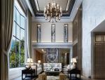 新中式别墅客厅3D模型下载