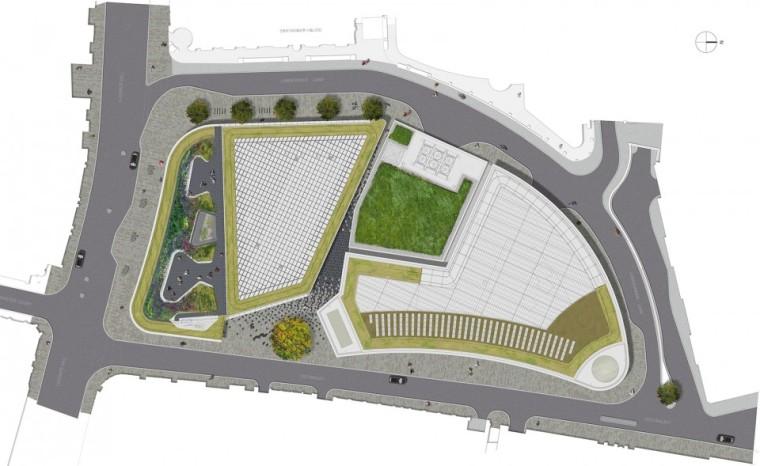 NewLudgate地块街道空间及屋顶花园-9