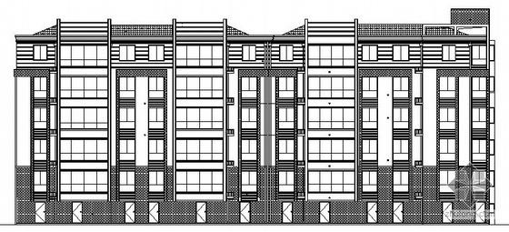 [江苏]某六层住宅楼建筑设计图(3套同类设计风格)
