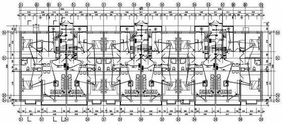 黑龙江某住宅楼电气图纸