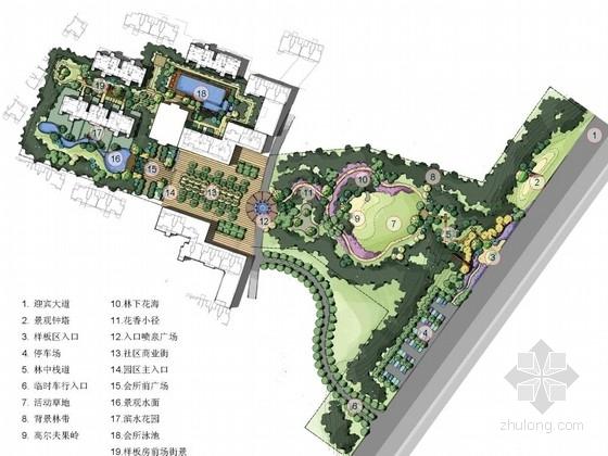 [武汉]滨水居住区样板区景观设计方案