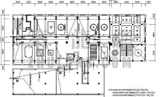 威海某酒店电气套图