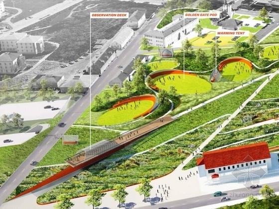 [国外]休闲滨水公园景观方案设计
