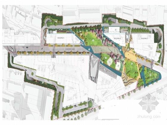 [上海]国际大都市主题商业街景观设计方案