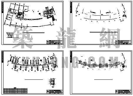某市政府办公大楼空调平面图