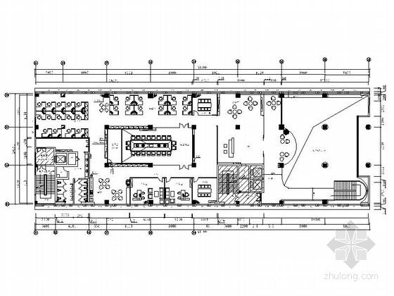 高档现代纺织服装创新中心写字楼装修图(含实景)