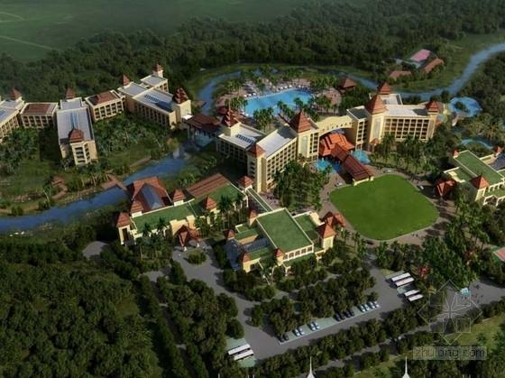 [云南]大型温泉养生旅游度假区设计方案文本(含星级酒店设计)