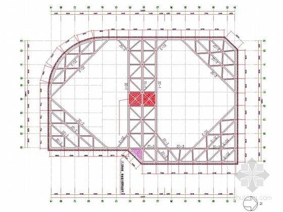 [浙江]10米深基坑SMW工法桩加内支撑支护施工图