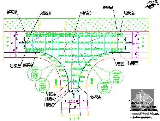 交叉口竖向设计图