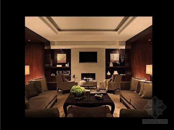 [成都]豪华四层商务会所室内装修图(含方案文本) 效果
