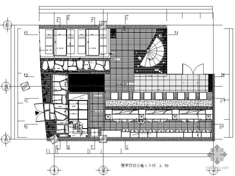 日式料理店平面图