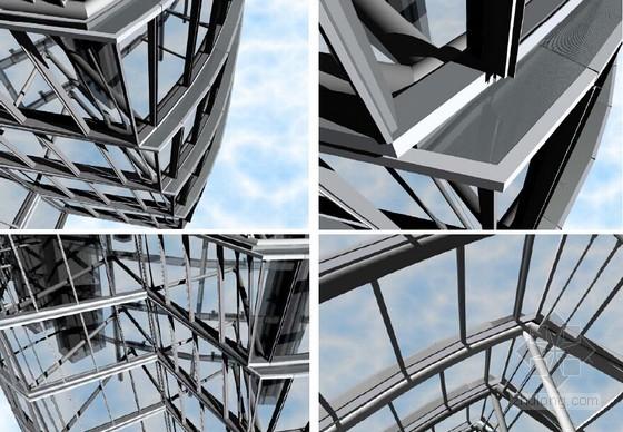 [上海]地标性超高层大厦外幕墙工程BIM系统应用及联动方案