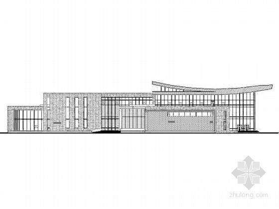 [江苏]昆山某教育培训中心三层综合楼建筑施工图