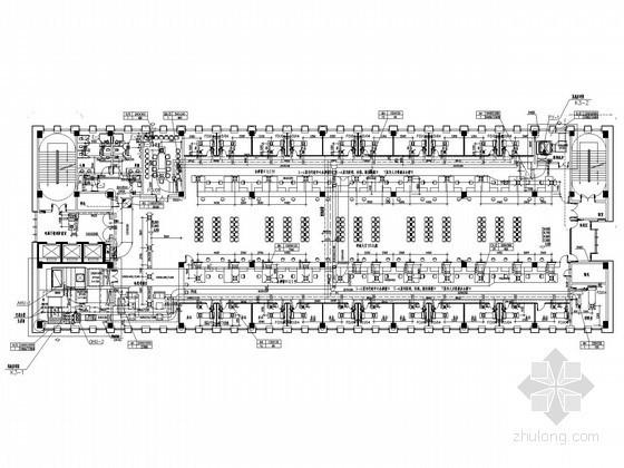 vrv空调施工程序资料下载-[江苏]中低层办公楼空调系统及通风排烟设计施工图