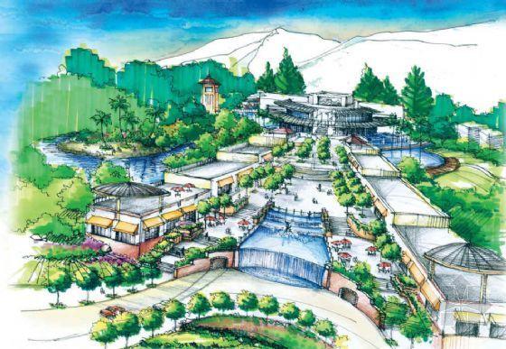 泉州奥林匹克花园景观设计方案