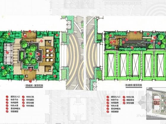 [郑州]商业综合体屋顶花园景观概念设计方案