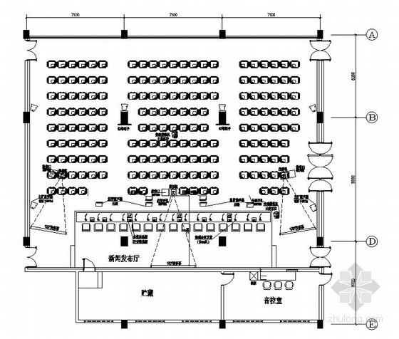 [福建]某体育中心多媒体系统施工图