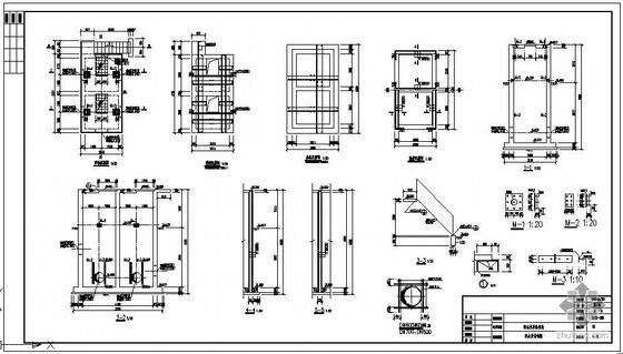 某污水厂配水井结构图