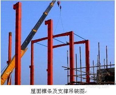 [福建]钢结构厂房施工方案(局部框架)