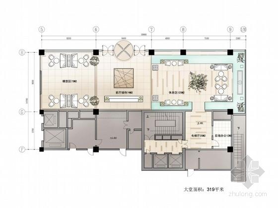 办公空间概念设计汇报资料下载-[北京]现代大厦汇报文件(公寓样板房3套+大堂)