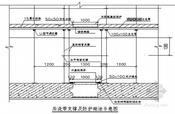 清水混凝土模板施工技术交底(节点图)