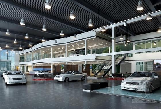[大连]世界最高档之一汽车品牌现代4S店室内概念方案图效果图