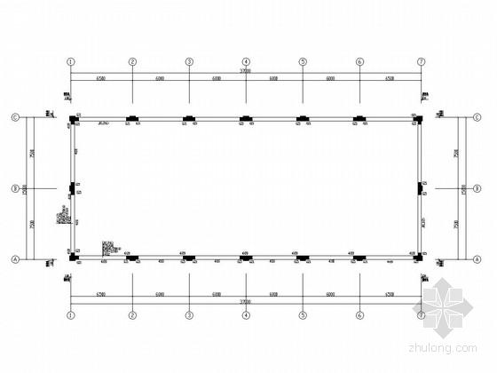 悬挑钢梁结构仓库改造工程设计套图(44张)