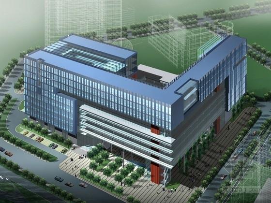 [广东]现代高科技研发中心建筑设计方案文本