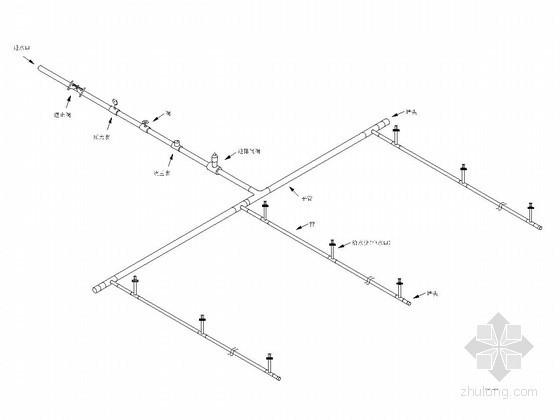 小型农田水利工程低压管道输水灌溉设计详图(13张)