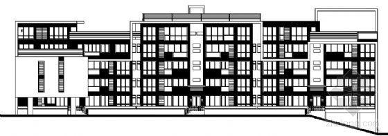 东部花园洋房11栋住宅楼建筑施工图