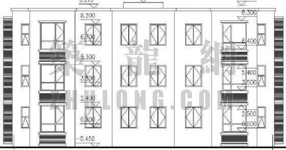 某三层住宅楼建筑施工图