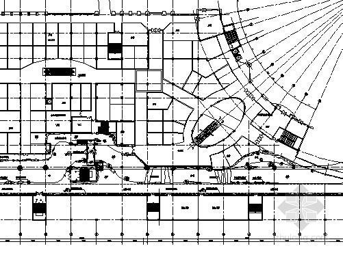 [广东]超大型主题购物公园热带雨林区景观设计施工图