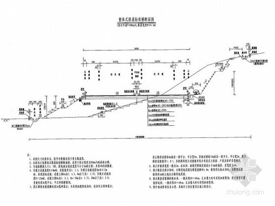 [河南]高速公路路基路面及排水施工图设计207张