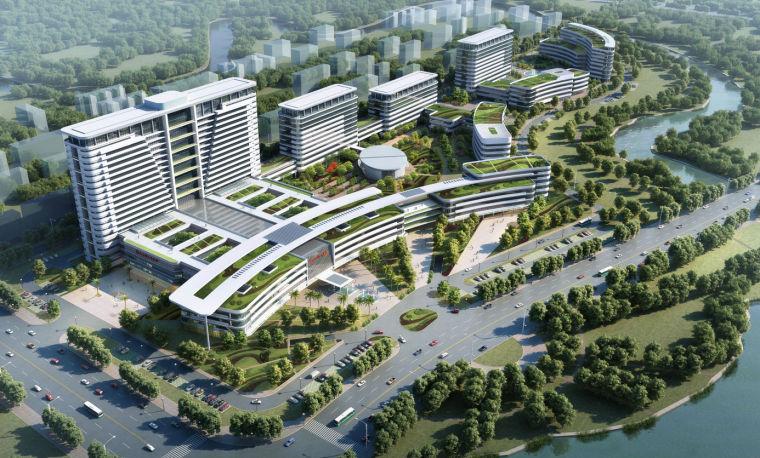 [云南]某市级人民医院建筑设计方案文本