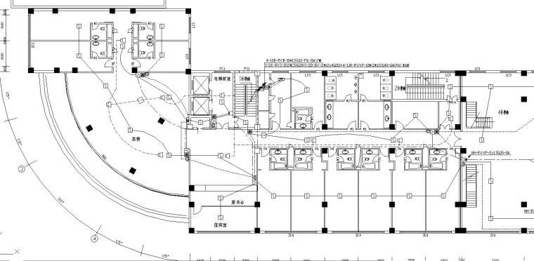 某12层宾馆消防电气图