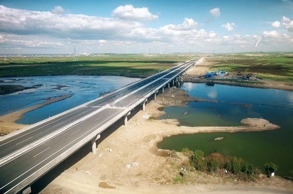 水下玻纤套筒加固案例之海拉尔大桥