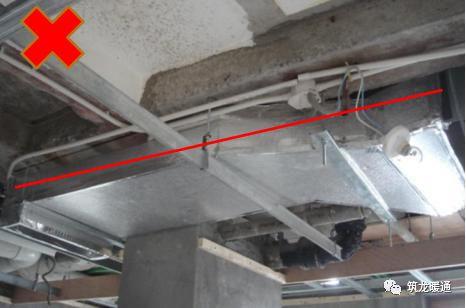 风管安装常见11项质量问题实例,室内机安装质量解析!_18