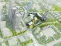 [苏州]未来科技感市民文化广场建筑设计方案文本
