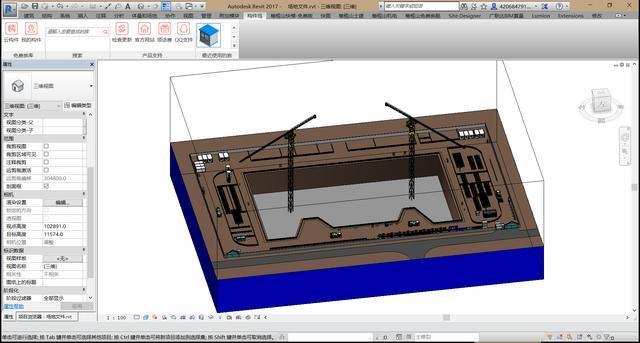 你还在用CAD画场地布置?out了,现在是BIM时代!