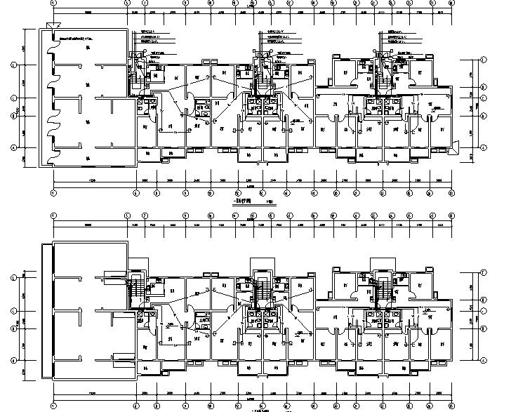 安徽标准商业住房强弱电电气施工图
