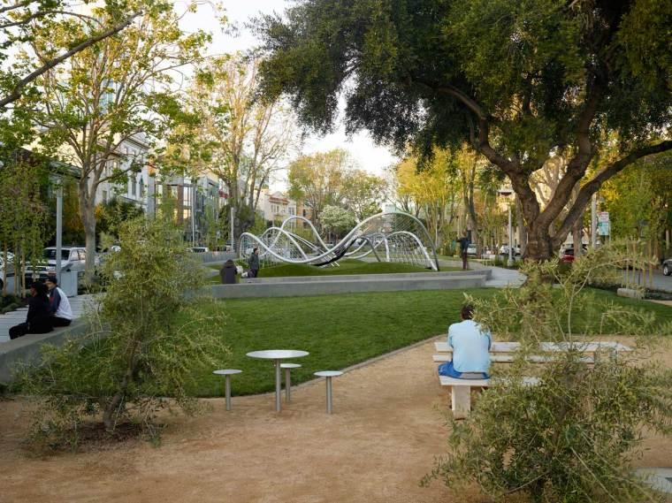 旧金山南公园改造